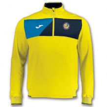 Laois Marlins Crew II Quarter Zip Adults  - Yellow / Royal / Navy 2018